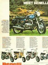 1973 Benelli Tornado 650 & Mini-Bikes - Vintage Motorcycle Ad