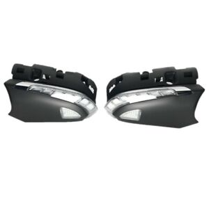 Rear-view Mirror Lights Cover, Streamer turn signals DRL for Camry Prius Avalon