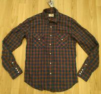 NEU Nudie Jeans,  Hemd  Shirt Jonis Western Heringbone M