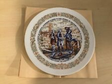 Lafayette Legacy Collection Porcelaine De Limoges France Plate #807 With Sleeve