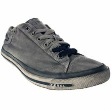 Herren-High-Top-Sneaker aus Canvas/Segeltuch