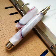 Fuliwen Pocket Fountain Pen, Screw Cap, Hexagon Cap, Resin Pen