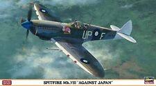 HASEGAWA 1:48 KIT AEREO SPITFIRE MK.VIII AGAINST JAPAN LIMITED EDITION ART 07301