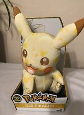 """Pikachu 20th Anniversary Large 11"""" Exclusive Pokemon Plush Doll Toy by Tomy USA"""