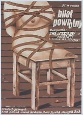 Return Ticket  - Polish Poster  -  Petelska&Petelski - Romuald Socha