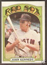1972 Topps #674 John Kennedy Boston Red Sox NRMT
