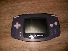 Nintendo Game Boy Advance SP Lila Handheld-Spielkonsole voll funktionsfähig