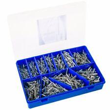 660x Blindnieten Sortiment Popnieten Set Nieten Stahlniete 3,2, 4,0, 4,8 mm