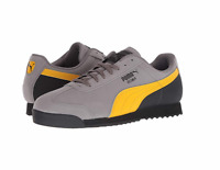 PUMA 36826602 ROMA RETRO NBK Mn´s (M) Gray/Yellow/Black Leather Lifestyle Shoes