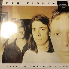 Foo Fighters - Toronto 3rd April 1996 -  180 g Green VINYL LP - NEW SEALED