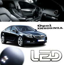 OPEL INSIGNIA 2 Ampoules LED ROUGE Red Plancher Sols Tapis Red light Footwell