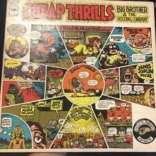 "Janis Joplin Big Brother Holding Cheap Thrills ROCK 12"" LP VINYL ALBUM RECORD"
