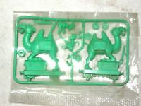 A 1969 Packaged R & L Cereal Toy Green Camel Train Camels Guard Van