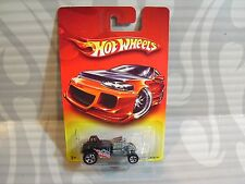 2007 HOT WHEELS red card = ALTERED STATE = BLACK  5sp
