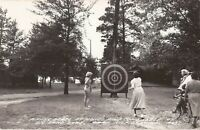 REAL PHOTO: Park Rapids, MINNESOTA - Sloan's - Big Sand Lake - Darts - 1955