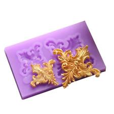 1pc 3D Relief Flower Silicone Fondant Mold Cake Border Decoration Sugar Mould
