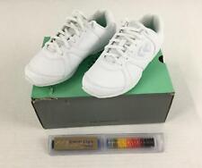 Kaepa Cheerful Women's Shoes W4 White Cheer Cheerleading Lace Up New