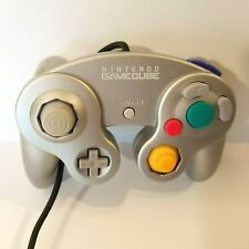 Nintendo DOL-003 Gamecube Controller OEM Official Silver Tested & Works