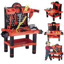 Strumento per bambini 54pc Set Gioco BANCO LAVORO ATTREZZI OFFICINA KIT Ragazzi Da Lavoro Giocattolo