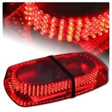 Red 240 LED Light Mini Bar Roof Top Emergency Hazard Warning Flash Strobe