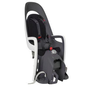 Hamax Caress Fahrradsitz Gepäckträgerhalterung grau-weiß-schwarz