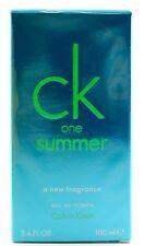 (GRUNDPREIS 49,90€/100ML) CALVIN KLEIN CK ONE SUMMER 2013 - 100ML EDT SPRAY