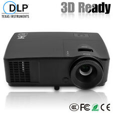 3600lm DLP Projector 3D HD Home Theatre Business Presentation Movie Game 1080P
