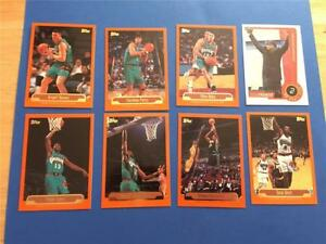1999/00 Topps Vancouver Grizzlies Team Set 9 Cards with Rookie SP Steve Francis