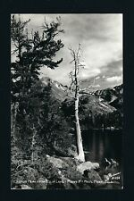 Bears Lake Rocky Mountain National Park, Colorado CO c1940s RPPC Sanborn R-1154