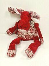 "Hugglehounds Dog Squeaky Toy Moose 17"" Supersize"