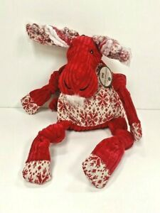 "Hugglehounds Dog Squeaky Toy Moose 17"" Supersize"