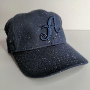 Reno Aces MiLB New Era 9TWENTY Sparkle Kids Youth Hat Cap Adjustable Navy Blue