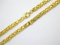 Kette Königskette 333 Gold (8 Karat) Gelbgold Karabiner 24,1g 5,1mm 50cm Binder