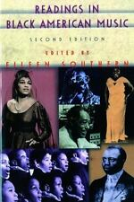 Readings in Black American Music (Second Edition) by