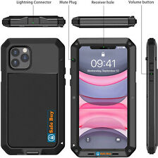 Waterproof Heavy Duty Gorilla aluminium metal Case Shockproof iPhone 11 Pro max
