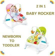 Baby Infant Rocker Bouncer Newborn Toddler Portable Rocker Swing Vibration
