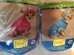 New Casual Canine Halloween Costumes Little Monster Pink Blue XS S S M L XL XXL
