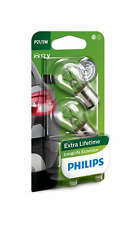 2 x Philips P21/5W 12V 21/5W BAY15d Long Life Eco Vision Lampen 12499LLECOB2