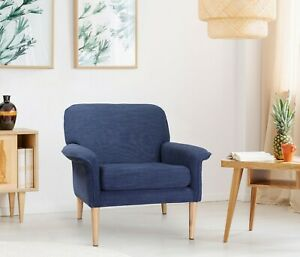 Contemporary Hand Crafted Arm Chair Living Room Furniture Andrea Arm Chair