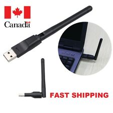 USB Wifi 150Mbps Wireless Adapter Computer LAN Card Antenna For Desktop, Laptop