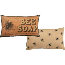 "New ""Bee Soap"" Decor Pillow"