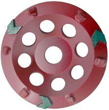 PKD-Schleifteller Schleiftopf 6 PKD-Segmente 125 mm -Neu- Diamant-Schleifteller