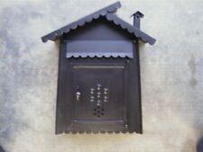 Ancienne boite à lettres,courrier la poste timbre colis