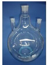 SIMAX ® Dreihals Rundkolben 20.000ml - 20 Liter Glas