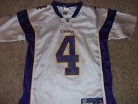 MINNESOTA VIKINGS Brett Favre Reebok On-Field NFL Players jersey Youth Medium