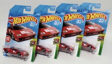 LAMBORGHINI COUNTACH PACE CAR * LOT OF 4 * 2018 HOT WHEELS * RED 1982 POLICE