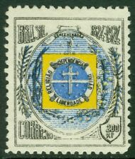 EDW1949SELL : BRAZIL 1924 Scott #272a Red omitted. VF, Mint No Gum. Catalog $350
