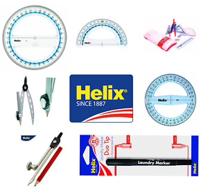 Helix various stationery in singles and multiples