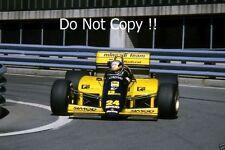Alessandro Nannini Minardi M185B Detroit Grand Prix 1986 Photograph