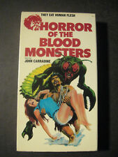 HORROR OF THE BLOOD MONSTERS Sci-fi, Horror VHS 1970 Color